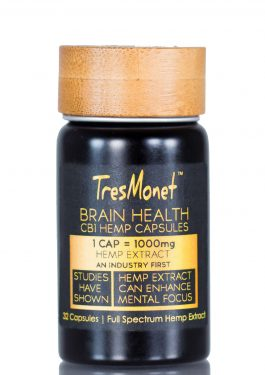 Brain Health CB1 Full-Spectrum Hemp Extract Gel Capsules 1000mg Per Serving(32 capsules)